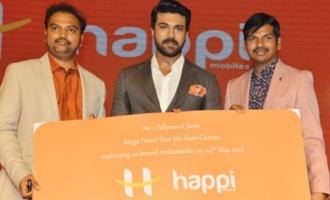 Happi Mobiles Brand Ambassador Ram Charan Press Meet