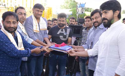 Ram Charan & Sukumar's Movie Launch
