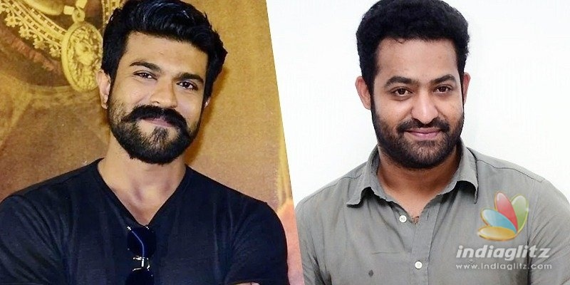 RRR: Is Ram Charan beating up NTR?