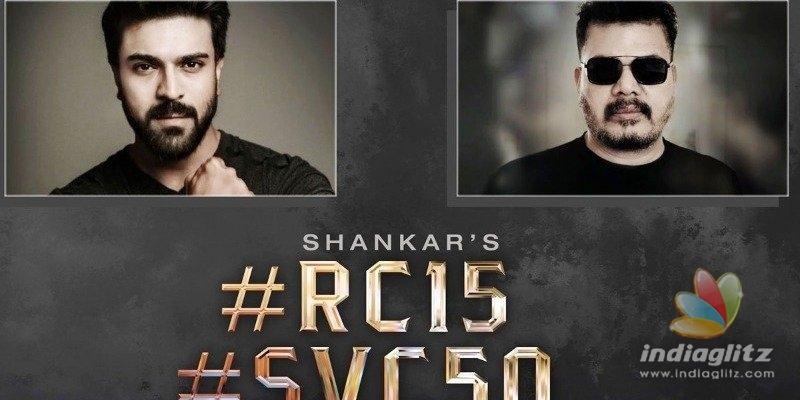 Ram Charan-Shankar film announcement tirggers speculations