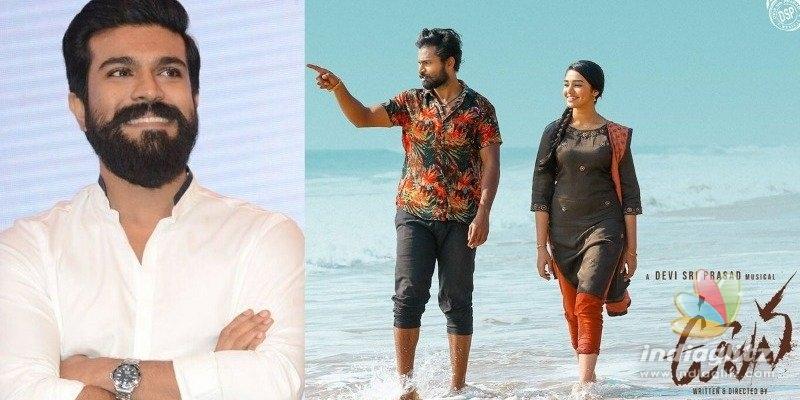 Ram Charan loves teaser of his Vaisshnav Tejs Uppena