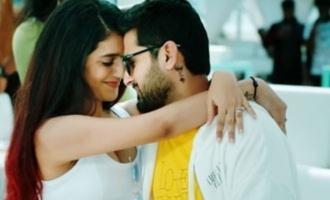 Nithiin, Priya Prakash Varrier jive for 'Ninnu Chudakunda' promo