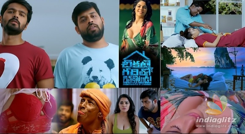 Chikati Gadhilo Chithakotudu Trailer: Replete with $ex jokes