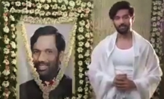LJP leader Chirag Paswan's video post his dad's death turns controversial