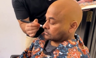 Chiranjeevi unveils making video of his bald look!