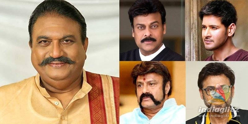 Chiranjeevi, Mahesh Babu, Balakrishna, Venkatesh & others condole Jayaprakashs death