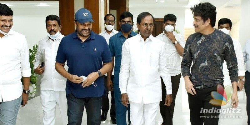 Chiranjeevi, Nagarjuna meet CM KCR for THIS reason