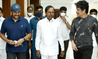 Chiranjeevi, Nagarjuna meet CM KCR for THIS reason
