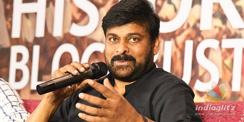 Talking about collections is unhealthy: Chiranjeevi