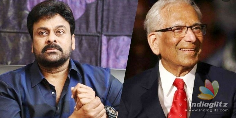 Chiranjeevi is saddened by the passing away of legendary doctor