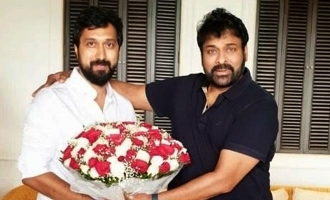 Megastar Chiranjeevi surprises his new director with a valuable gift! – Exclusive Pictures