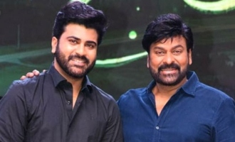 Chiranjeevi, Sharwanand deliver touching speeches at 'Sreekaram' event