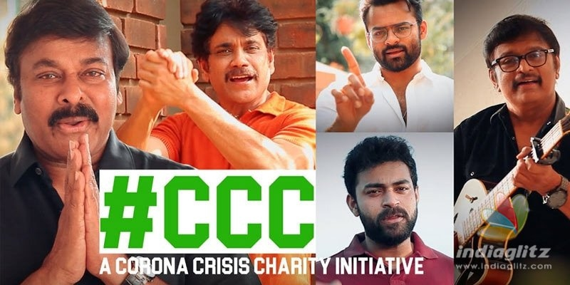 Chiru, Nag, two other Mega heroes feature in awareness song