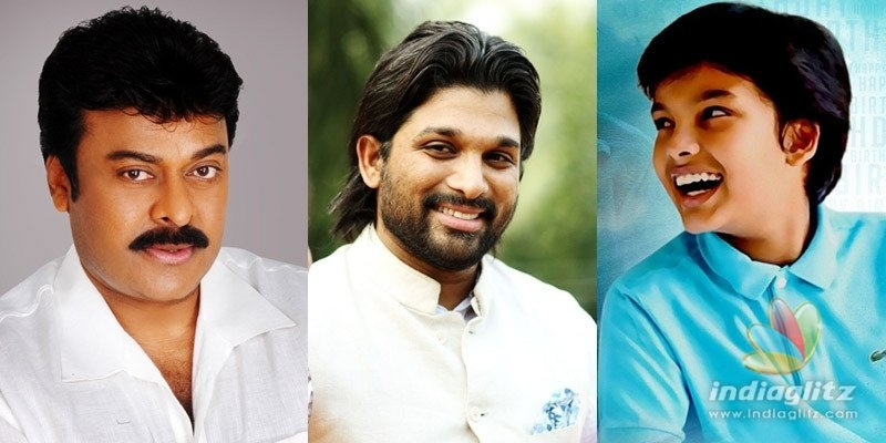 Chiranjeevi wishes Allu Arjun & Akiran Nandan like never before!