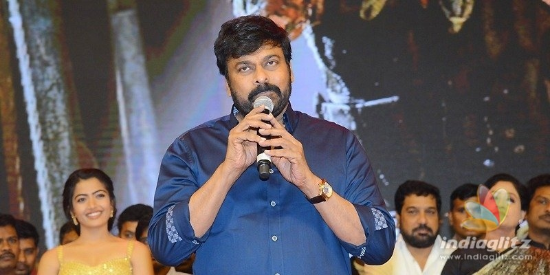 Mahesh & Charan are helping producers big-time: Chiranjeevi