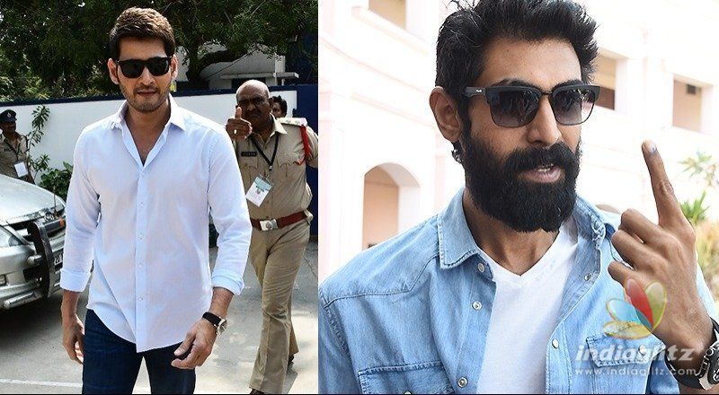 Chiranjeevi, Mahesh, NTR, Bunny & others cast their vote