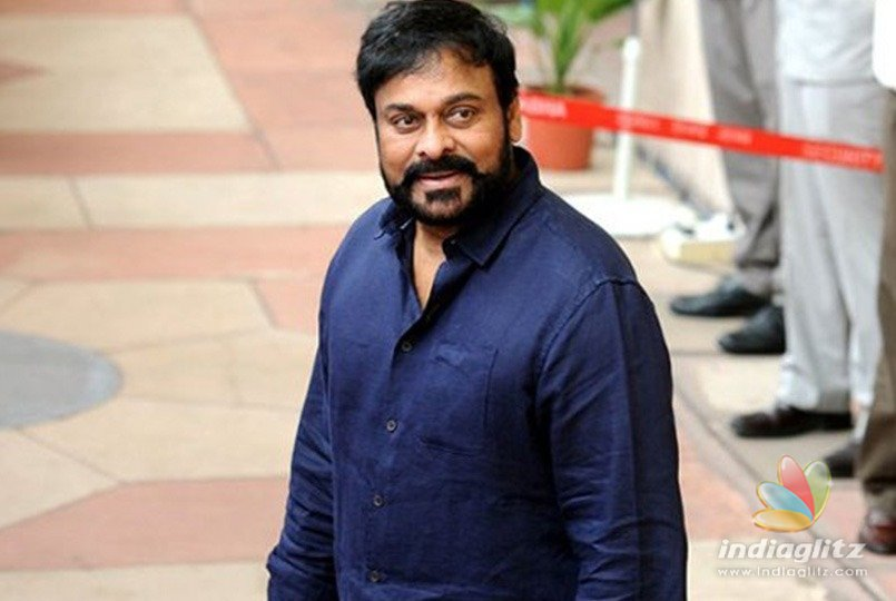 Chiranjeevi giving his best for the best technicians