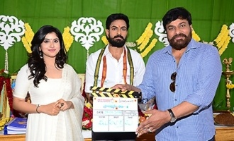 Chiranjeevi opens up on Vaisshnav Tej's debut movie