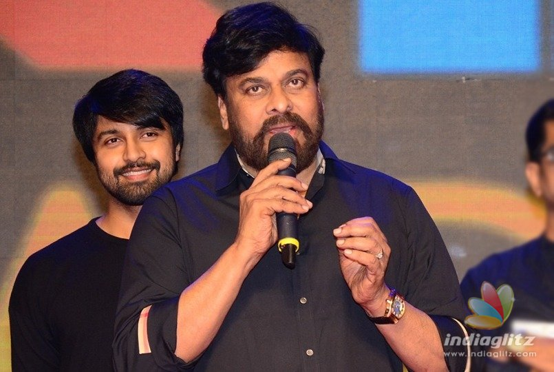 Thats what I told Kalyaan Dhev: Chiranjeevi