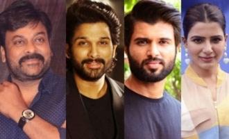 Chiranjeevi, Allu Arjun, Vijay Deverakonda on Samantha's talk show