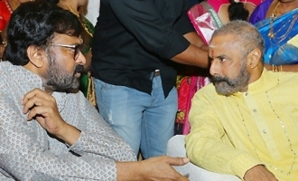 Pic Talk: Chiranjeevi, Balayya clicked together at wedding