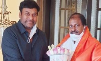 New AP BJP President calls on Megastar Chiranjeevi