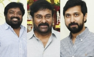 Bobby, Meher Ramesh on cloud nine after meeting Chiranjeevi