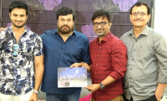 'Sammohanam' Team Celebrates Success With Chiranjeevi
