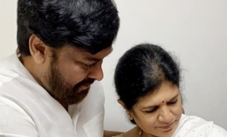 Chiranjeevi-Surekha duo joyful with Navishka