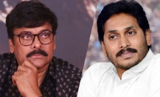 Chiranjeevi thanks YS Jagan