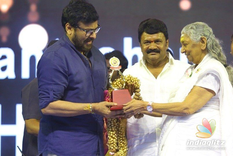 Would have declined award but for her: Chiranjeevi