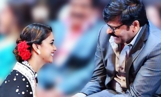 Pic Talk: Keerthy Suresh's chit-chat with Megastar