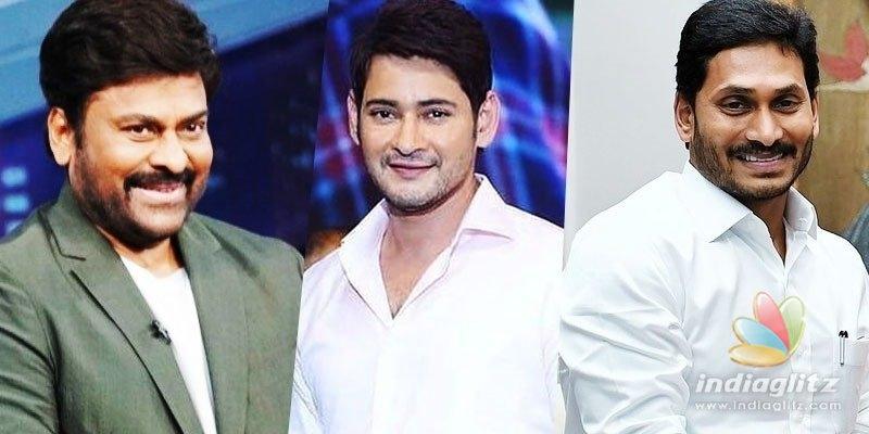 Megastar Chiranjeevi, Mahesh Babu wish Jagan Mohan Reddy