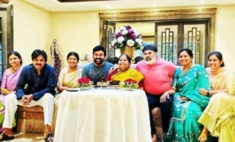Mega borhters in single frame on the occasion of mothers birthday