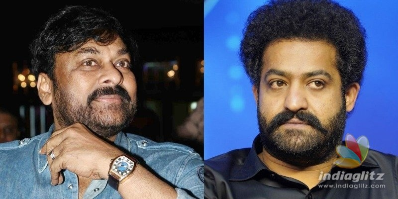 Chiranjeevi updates about Jr NTRs health