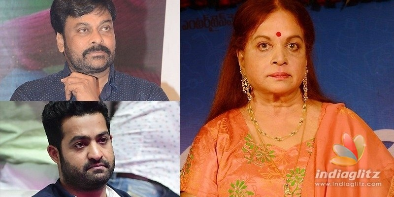 She was multi-faceted, a pioneer: Chiranjeevi & NTR