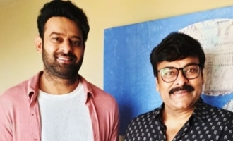 Chiranjeevi feels Prabhas has an 'exciting line up of films'