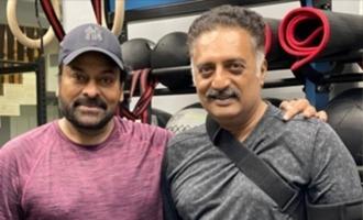 Pic Talk: Chiranjeevi, Prakash Raj clicked at a gym