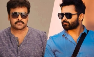 Chiranjeevi to Sai Dharam Tej: 'Your solo days are numbered'