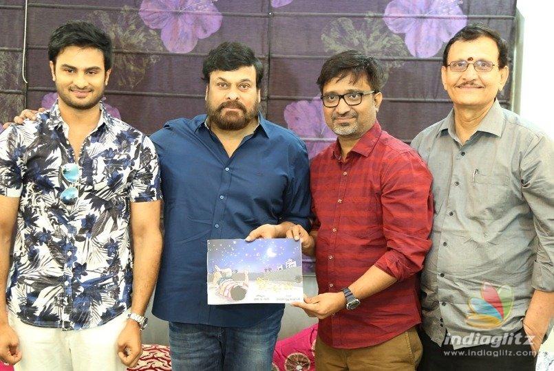 Chiranjeevi unveils Sammohanam book