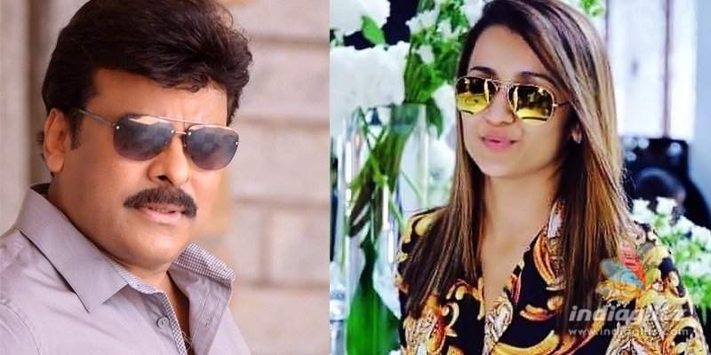 Trisha to romance Chiranjeevi once again: Reports