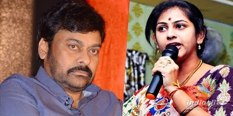 Active BJP Woman leader from AP criticises Chiranjeevi