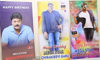Megastar Chiranjeevi Birthday Celebrations