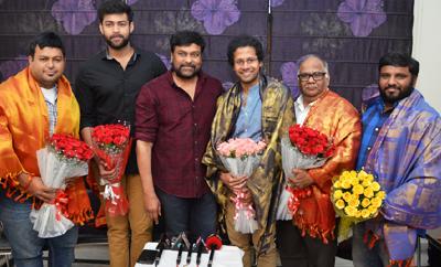 Chiru Felicitates 'Tholi Prema' Team