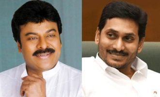 Chiranjeevi thanks CM YS Jagan
