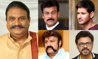 Chiranjeevi, Mahesh Babu, Balakrishna, Venkatesh & others condole Jayaprakash's death