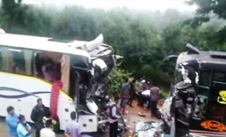 'Journey'-like collision of buses in Chittoor district