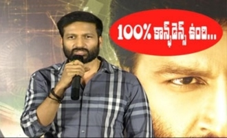 Gopichand Superb Excited Speech @ Chanakya Movie Release Press Meet