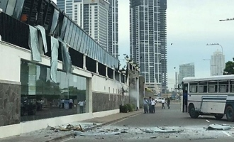 Bomb blasts in Colombo kill 55, injure hundreds