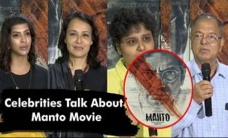 Celebrities Talk About Manto Movie
